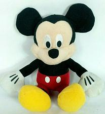 Buy Disney Just Play Mickey Mouse Black Red Plush Stuffed Animal 10.5""