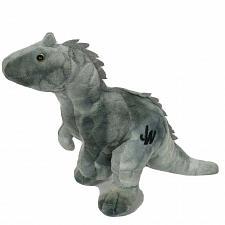 "Buy Jurassic World Indominus Rex T Rex Gray Dinosaur Plush Stuffed Animal 12.5"""