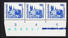 Buy GERMANY DDR [1990] MiNr 3344 3er ( **/mnh ) [01] Architektur