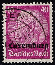 Buy Luxembourg #N12 Hindenburg - German Occupation; Used (2Stars) |LUXN12-01XRP