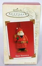 Buy Hallmark Keepsake Christmas Ornament Kris Kringle 2003