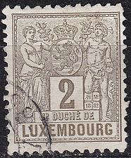 Buy LUXEMBURG LUXEMBOURG [1882] MiNr 0046 a C ( O/used )