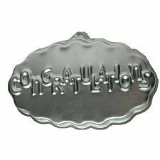 Buy Vintage Wilton Congratulations Graduation Cake Pan 1986 2105-3523