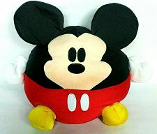 Buy Disney World Disney Parks Mickey Mouse Round Plush Stuffed Animal 14""