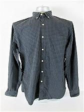 Buy J CREW MENS Large LONG SLEEVE GRAY PLAID POCKET BUTTON DOWN SHIRT (T)P