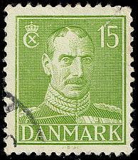 Buy Denmark #281 King Christian X; Used (0Stars) |DEN0281-02XRS