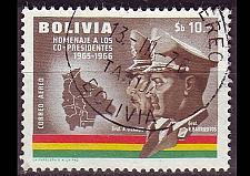 Buy BOLIVIEN BOLIVIA [1966] MiNr 0718 ( O/used )