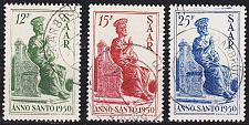 Buy GERMANY Saar [1950] MiNr 0293-95 ( O/used ) [02]
