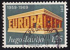 Buy JUGOSLAVIA [1969] MiNr 1361 ( O/used ) CEPT