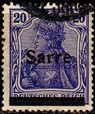 Buy GERMANY Saar [1920] MiNr 0008 I ( O/used )