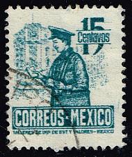 Buy Mexico #825 Postman; Used (0.25) (3Stars) |MEX0825-04XRS
