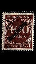 Buy GERMANY REICH Dienst [1923] MiNr 0080 ( O/used )