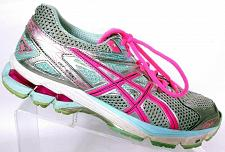 Buy Asics Women's GT 1000 3 Lightning Pink Silver Running Athletic Shoes Size 9.5 M