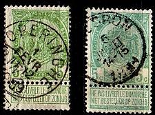 Buy BELGIEN BELGIUM [1893] MiNr 0052 a,b ( O/used )