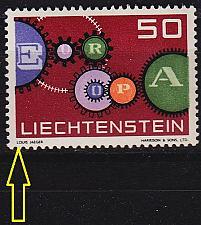 Buy LIECHTENSTEIN [1961] MiNr 0414 I ( **/mnh )