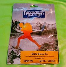 Buy Backpacker's Pantry MOCHA MOUSSE PIE 3.7oz 2 SERVINGS Camp survival Food SEALED