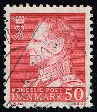 Buy Denmark #418 King Frederik IX (fluor); Used (0.50) (3Stars) |DEN0418-06
