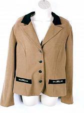 Buy R&K Originals Women's Suit Jacket Size 10 Top Brown Button Down