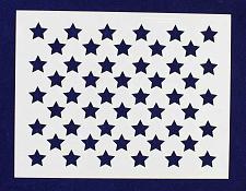 "Buy 50 Star Field Stencil 14 Mil -7""H X 9""L - Painting /Crafts/ Templates"