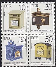 Buy GERMANY DDR [1985] MiNr 2924-27 ( **/mnh ) Post 4er