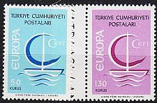 Buy TÜRKEI TURKEY [1966] MiNr 2018-19 ( **/mnh ) CEPT