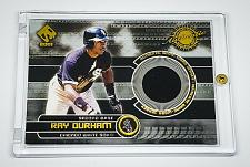 Buy MLB RAY DURHAM WHITE SOX 2001 PACIFIC GAME-WORN JERSEY RELIC MINT
