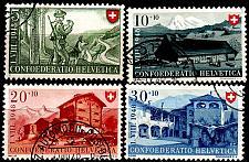 Buy SCHWEIZ SWITZERLAND [1948] MiNr 0508-11 ( O/used ) [02] Pro Patria