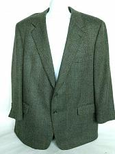 Buy Brooks Brothers Men's 2 Button Suit Coat Size 48 Reg Fully Lined Gray Tweed