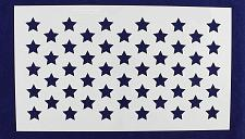 "Buy 50 Star Field Stencil 14 Mil -11""H X 19L"" - Painting /Crafts/ Templates"