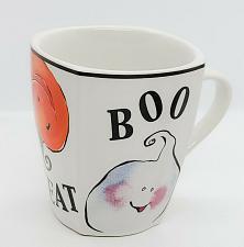 Buy Rosanna R Table BOO TRICK TREAT Halloween Ghost Pumpkin Cat Coffee Mug