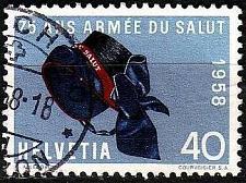 Buy SCHWEIZ SWITZERLAND [1958] MiNr 0656 ( O/used )