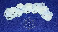 "Buy Mylar 3/4"" Hexagon 51 Piece Set - Quilting / Sewing Templates"