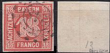 Buy GERMANY Bayern Bavaria [1862] MiNr 0013 b ( O/used ) [01]