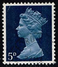 Buy Great Britain #MH8 Machin Head; Used (0.25) (2Stars) |GBRMH008-04XBC