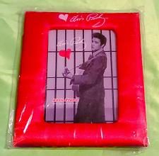 Buy BRAND NEW ELVIS PRESLEY JUST FOR YOU RED SATIN 4x6 PICTURE FRAME RARE