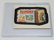 Buy VINTAGE 1986 Topps Wacky Packages BLUNDER EXTRA HEAVY BREAD #44 NMNT