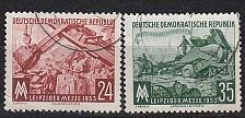 Buy GERMANY DDR [1953] MiNr 0380-81 ( OO/used )