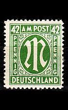 Buy GERMANY Alliiert AmBri [1945] MiNr 0031 B ( **/mnh )