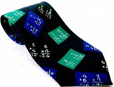 Buy A Rogers Men's Dress Necktie Math School Teacher Addition Multiplication Novelty