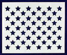 "Buy 50 Star Field Stencil 14 Mil -10.5"" x 13""- Painting /Crafts/ Templates"