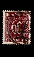 Buy GERMANY REICH Dienst [1921] MiNr 0066 a ( O/used )