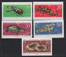 Buy GERMANY DDR [1963] MiNr 0978-82 ( **/mnh ) Tiere
