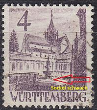 Buy GERMANY Alliiert Franz. Zone [Württemberg] MiNr 0029 y a V ( O/used )
