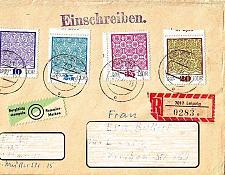Buy GERMANY DDR [1974] MiNr 1963-66 ( Brief )