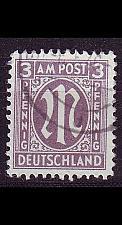 Buy GERMANY Alliiert AmBri [1945] MiNr 0017 a C ( O/used )