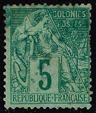 Buy French Colonies #49 Commerce; Used (2Stars) |FRC49-02XVA