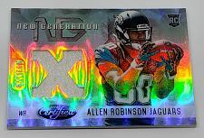 Buy NFL ALLEN ROBINSON JAGUARS 2014 PANINI CERTIFIED REFRACTOR RC JERSEY /599 MMT