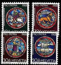 Buy SCHWEIZ SWITZERLAND [1968] MiNr 0874-77 ( **/mnh ) Pro Patria