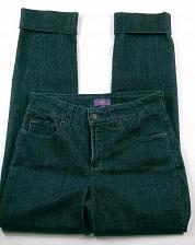 Buy NYDJ Women's Lift Tuck Jeans Size 2 Marilyn Straight Leg Dark Wash Cuffed