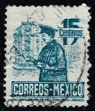 Buy Mexico #825 Postman; Used (0.25) (3Stars) |MEX0825-09XRS
